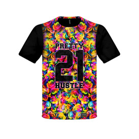 pretty hustle floral