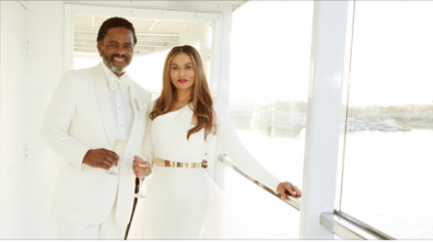 Tina Knowles Weds Actor Richard Lawson Aboard A Yacht In California