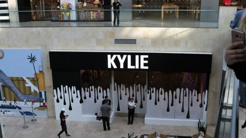 Kylie Jenner's Holiday Pop Up Experience.