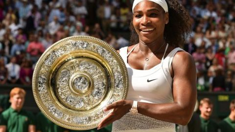 Black Girl Magic :Serena Williams On Way To Break Record With 23rd Grand Slam Title!!