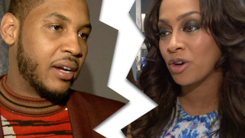 Despite Divorce, LaLa and Melo Spend Mother's Day Together.