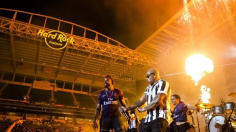 Flo Rida & Sage the Gemini Kick off El Classico with a Flaming HOT Half-Time Performance!