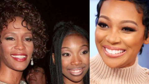 Drama Between Brandy and Monica over Post for Whitney Houston