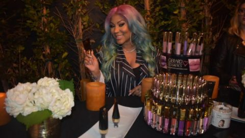 Lyrica Anderson Debuts New Cosmetic Line