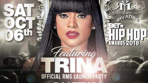 Trina and Her Rockstarrs Invade Brick House for the Official RMG Launch Party