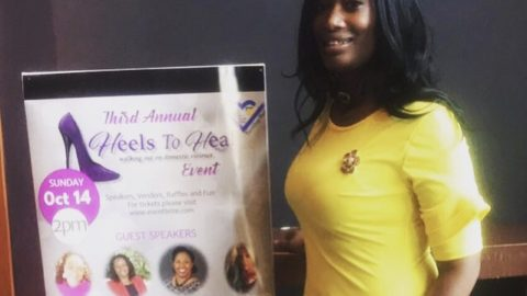3rd Annual Heels To Heal:Walking Out on Domestic Violence held in Charlotte, NC