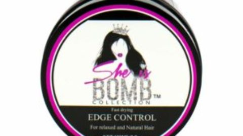 "Beauty Tip Tuesday : Product Review on ""She is Bomb"" Edge Control"