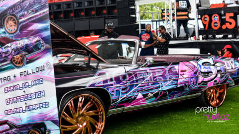 Uncle Luke's  MOBx NAVA Carshow & Day Party Was the Place to Be During Super Bowl Weekend
